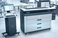 wide format printers and plotters